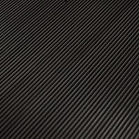 Rippenläufer fein, schwarz