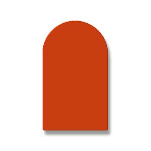 Silikon-Halbrundprofil