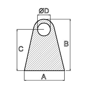 Silikon-Dreikant-Schutzleisten