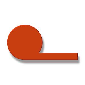 Silikon-P-Profile Vollgummi