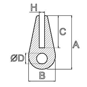 U-Profile mit rundem Wulst
