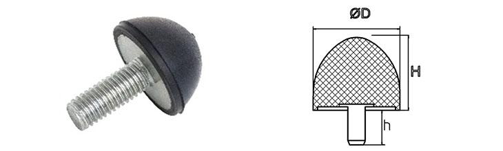 Gummi Anschlagpuffer