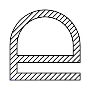 Gummi Kühlschrank Profil