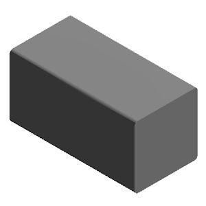 Gummi-Vierkantprofil