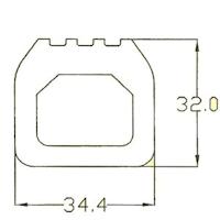 Gummi Abdichtung mit Ventil 0368