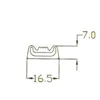 Gummi Abdichtung mit Luft 2251