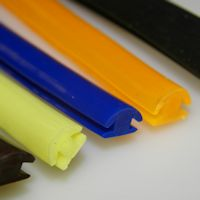 Gekleurde rubber profielen